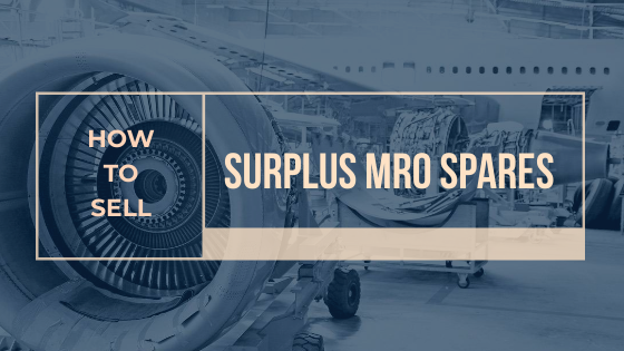 how to sell surplus mro spare parts