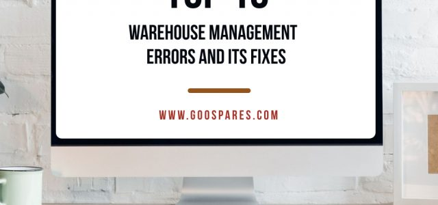 Management errors and its fixes