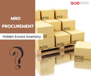 Mro procurement to excess inventory